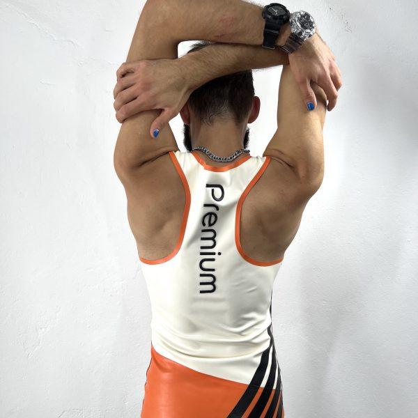 rubber-latex-herren-man-fetish-jersey-schwarz-orange-proll-premium-clubbing-heavytool-gear-berlin-sport-sporty-gay-queer-folsom-unisex-x65